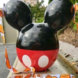 Disneyparks Mickey Popcorn Bucket NEW